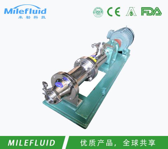 食品级螺杆泵(浓浆泵)