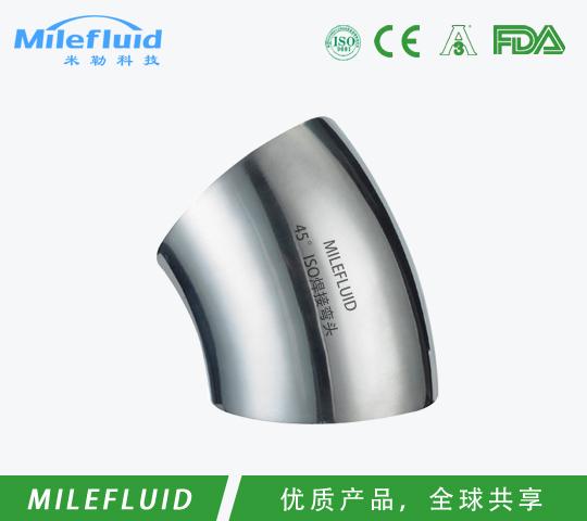 45° ISO焊接弯头